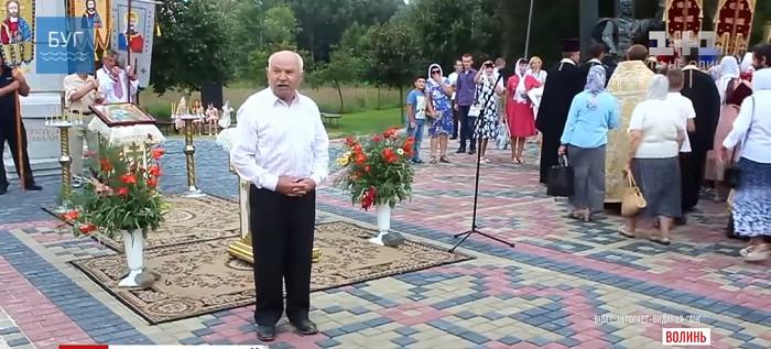На Волыни священников УПЦ прогнали отрывком из Кобзаря