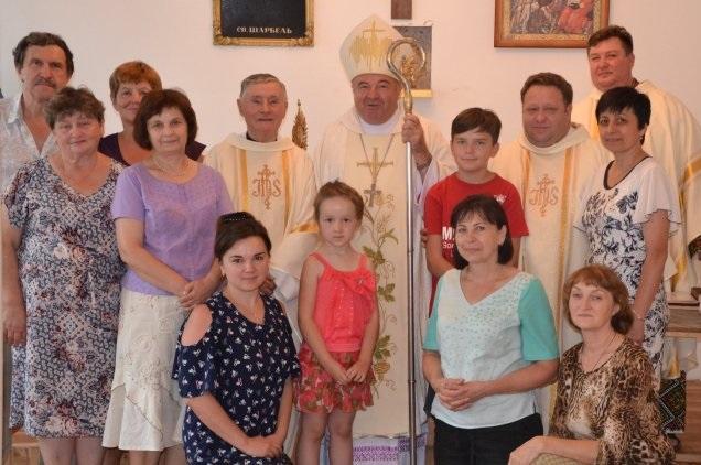 Римо-католики відзначили свято святого Шарбеля у Слов