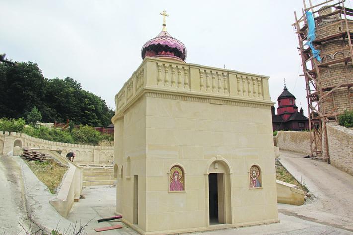 На Тернопільщині відкриють копію комплексу споруд Святої землі, зокрема Гробу Господнього
