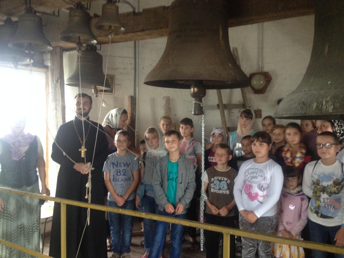 Житомирська єпархія УПЦ провела табір для сиріт та дітей військових АТО