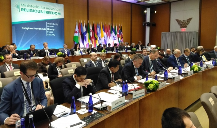 На масштабній конференції в США порушили питання релігійних переслідувань в Криму і Донбасі
