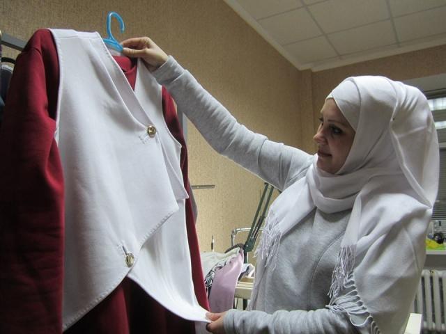 Мусульманка-дизайнер взяла участь у всеукраїнському етнофестивалі