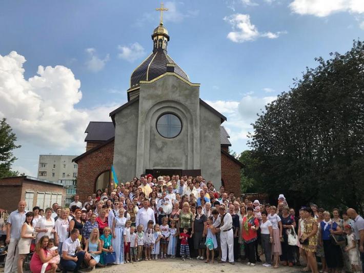 Митрополит освятив п'ятий храм УГКЦ у Кам'янці-Подільському