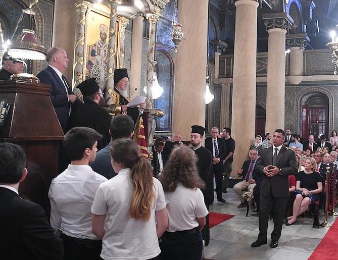 """Константинопольський патріарх підкреслює """"особливу зацікавленість"""" у вирішенні українського питання"""