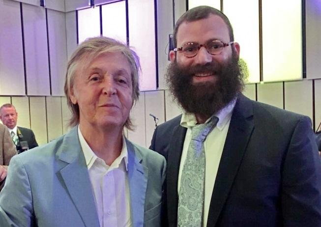 Евреи Днепра ждут Пола Маккартни с концертом в «Меноре»