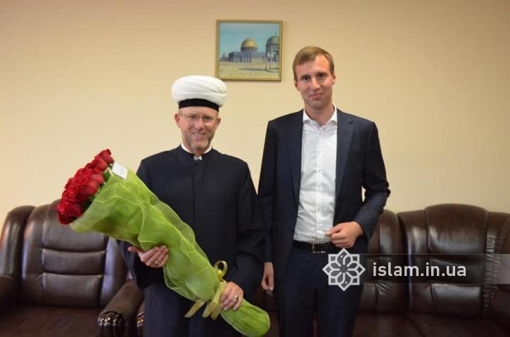 Президент привітав з днем народжння муфтія Духовного управління мусульман України «Умма»