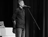 Письменник Сергій Жадан презентує збірку віршів «Антена» — біблійні цитати, щоденник, церковні проповіді....