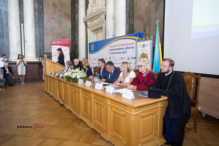 Священик УПЦ КП взяв участь у Першому світовому форумі українознавчих суботніх та недільних шкіл