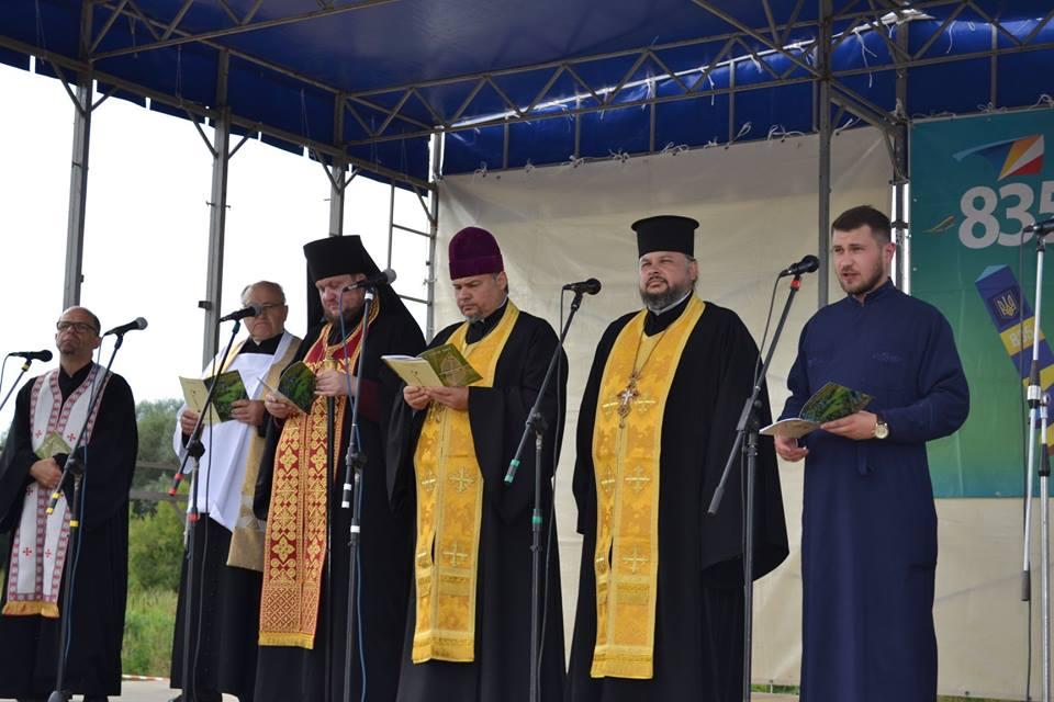 На українсько-польському кордоні відбулася екуменічна молитва
