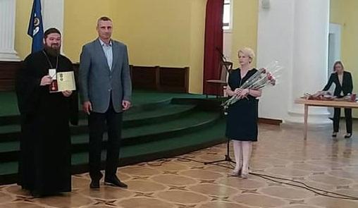 За участь в АТО священиків УПЦ нагороджено відзнаками президента