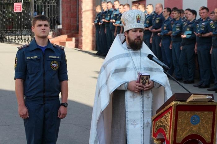 В УПЦ отметили День государственного флага России