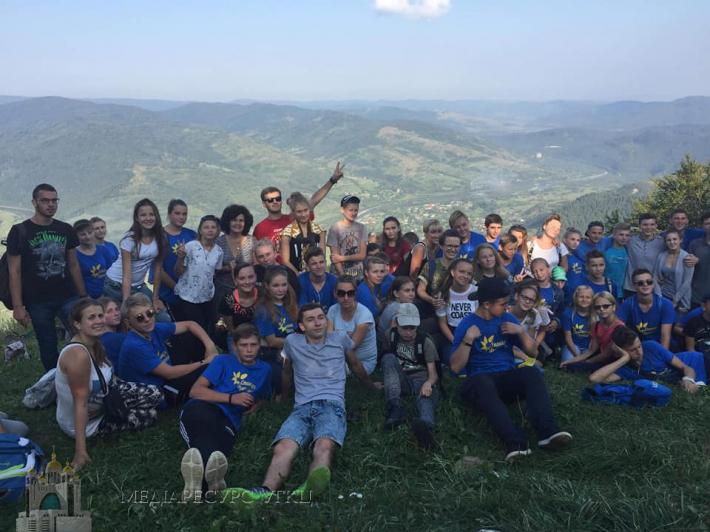 Для 70 дітей дітей з прифронтової зони греко-католики провели літній табір на Львівщині