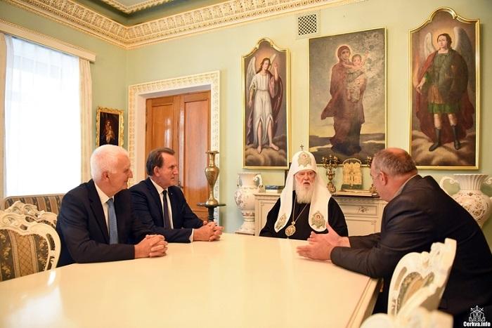 Глава УПЦ КП обговорив з професорами освітніх установ Польщі та України викладання дисциплін релігійного спрямування