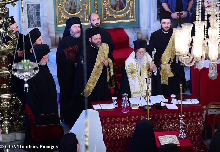 """Вселенский патриарх заявил о """"постоянной и непрерывной"""" канонической зависимости Киева от Константинопольской Церкви"""