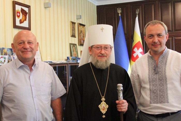 Єпархія УПЦ заявила про підтримку голови Рівненської обладміністрації