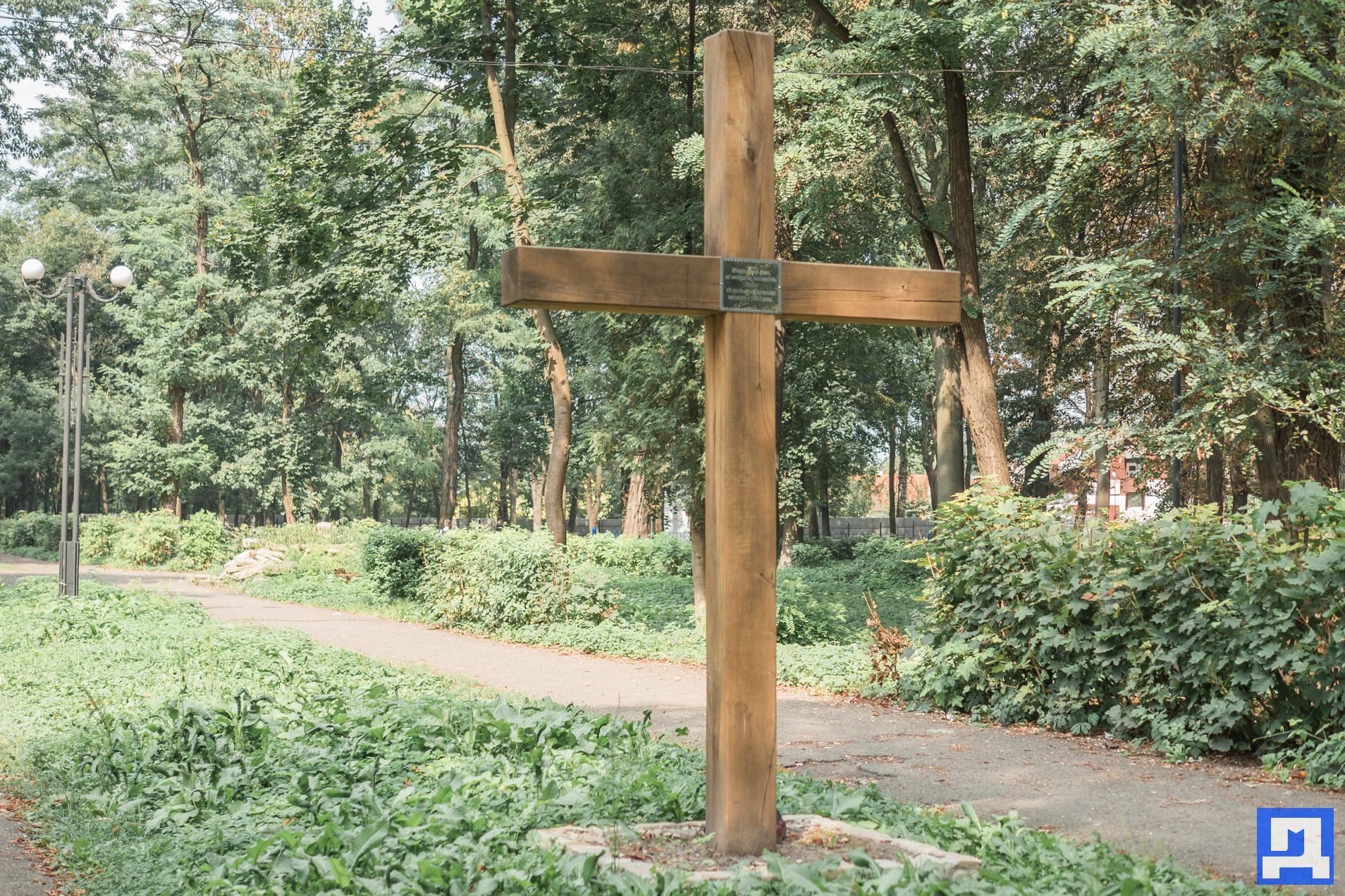 У Коломиї судяться з міською радою через поклінний хрест на єврейському цвинтарі