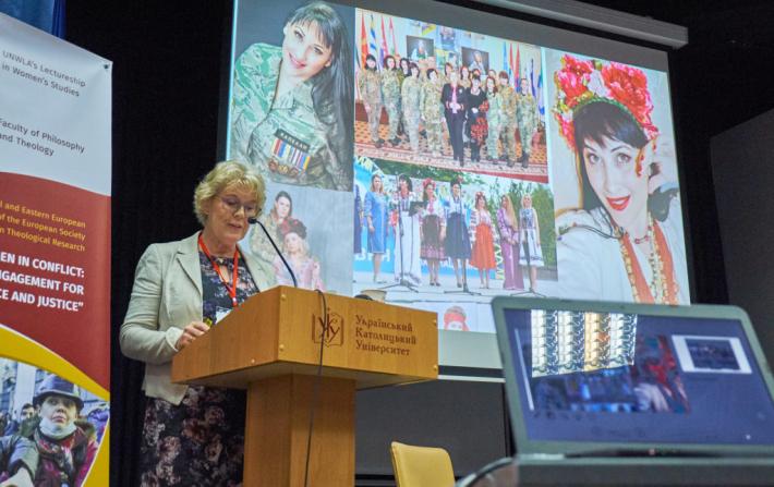 В Українському католицькому університеті згадали про російських жінок, які потурають війні проти України