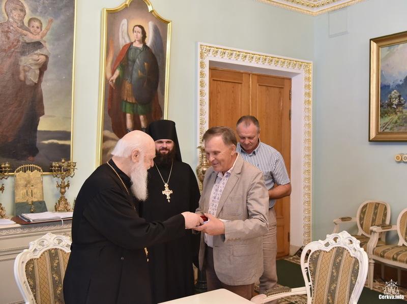 Співробітники Києво-Печерського заповідника нагороджені орденами УПЦ КП