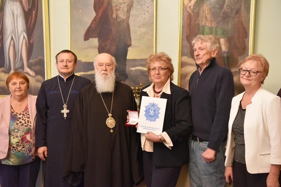 Предстоятель УПЦ КП обговорив з головою Союзу українок Америки церковно-суспільні питання