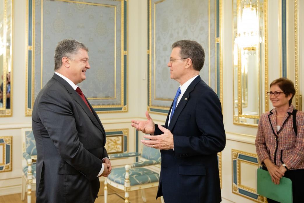 Президент України і посол США знайшли спільну мову щодо захисту вірян в Донбасі та Криму, а також права українців на автокефалію