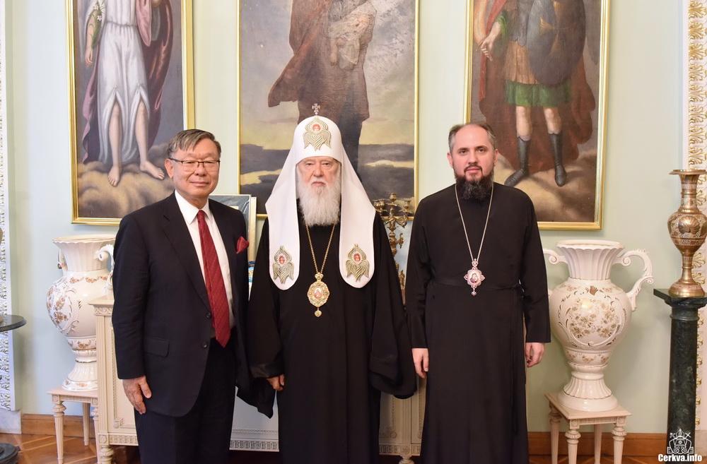 Глава УПЦ КП і посол Японії обговорили соціальну та міжконфесійну ситуацію в Україні