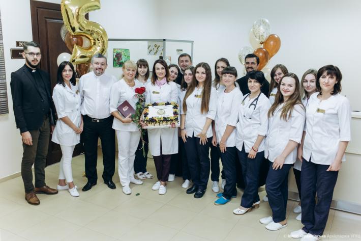 Лікувально-діагностичний центр УГКЦ — перший в Україні церковний медичний заклад — відзначив п`ятиріччя