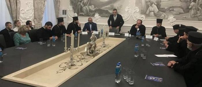 Професор єврейської історії зі США виступив перед слухачами в Дніпропетровській єпархії УПЦ КП