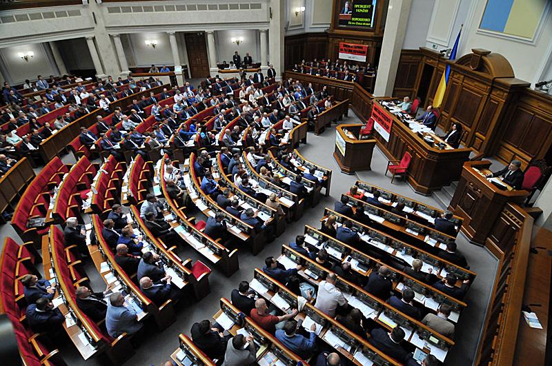 Народні депутати зняли з розгляду законопроект про молитви перед початком засідань