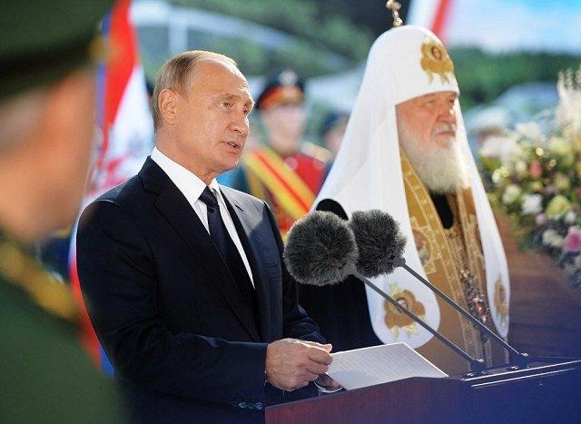 Патриарх Кирилл: «Россия никогда не ведет и не вела захватнических войн»