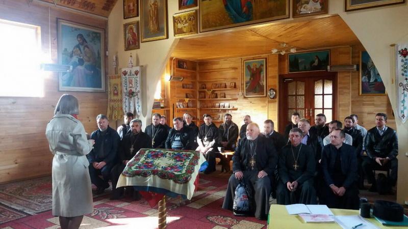 Психолог дав поради священикам УПЦ КП по роботі з демобілізованими воїнами