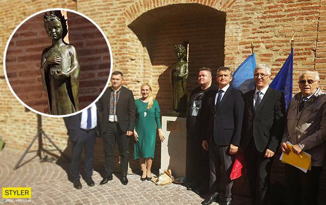 У Франції відкрили скульптуру Анни Київської