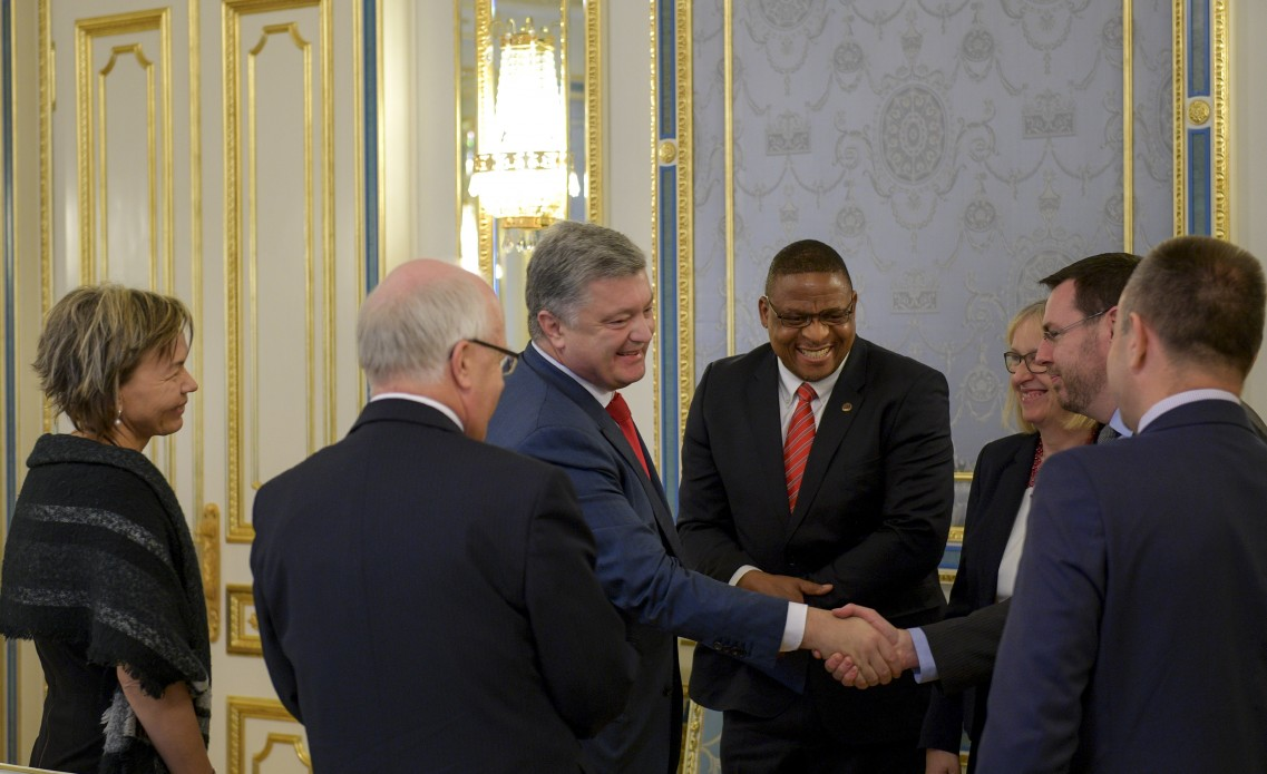Президет України зустрівся з лідерами світового баптистського руху, які провели у Львові конференцію Європейської баптистської федерації