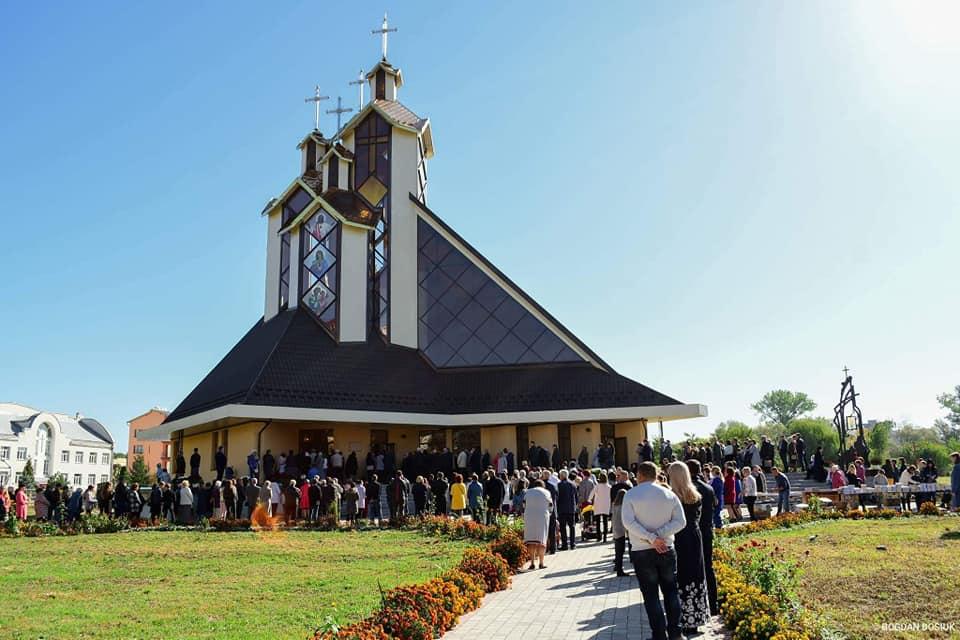 В Івано-Франківську освятили 33-метровий храм УГКЦ