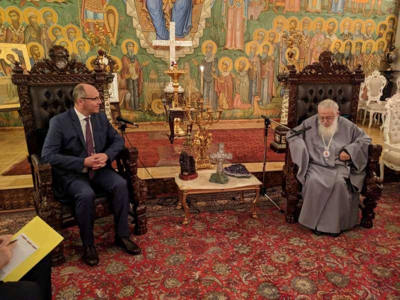 Грузинська Церква зайняла вичікувальну позицію у суперечці щодо української автокефалії