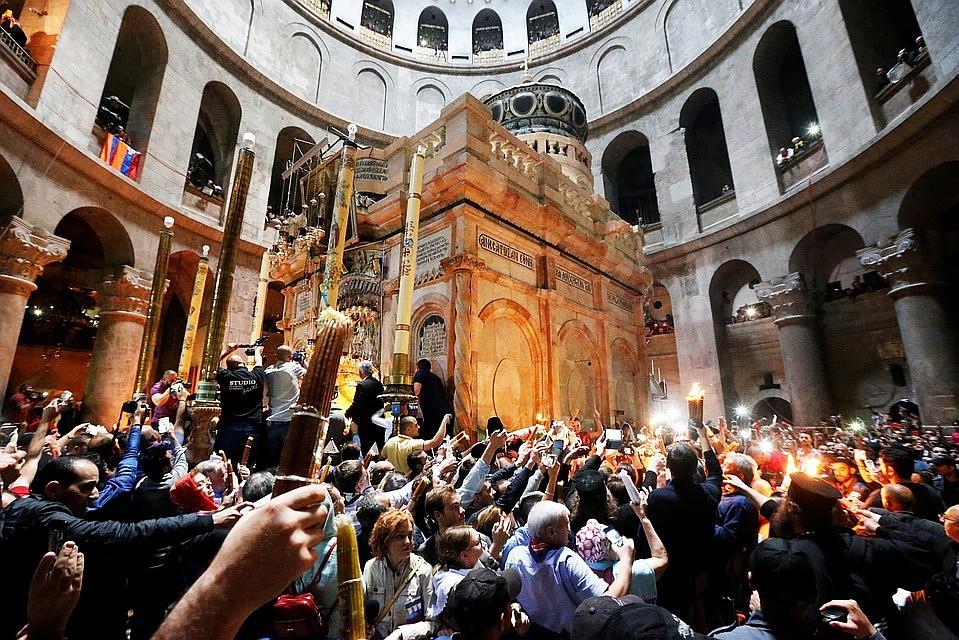 РПЦ может прервать общение с Иерусалимской Церковью, если она поддержит Константинополь