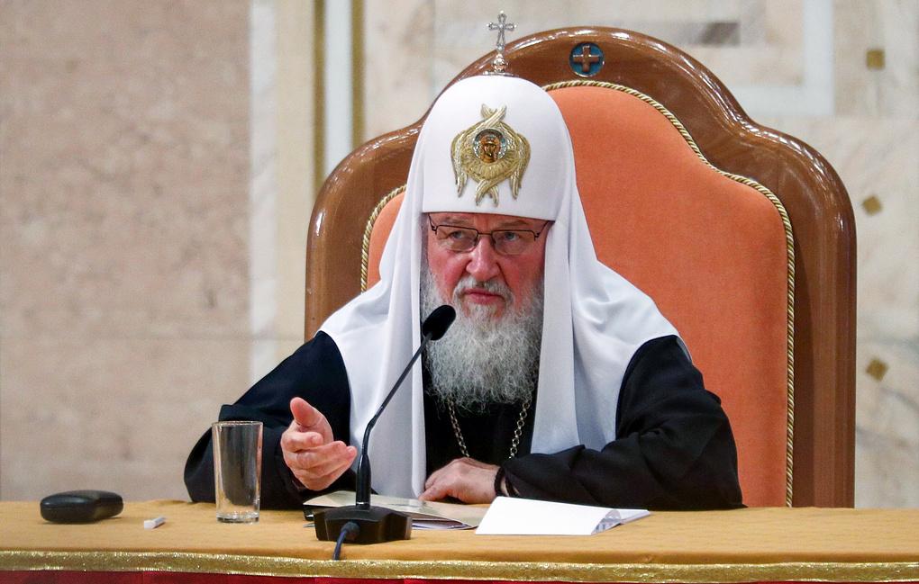 Патриарх Кирилл: Константинополь «простил раскольников. Значит... сам стал раскольником»