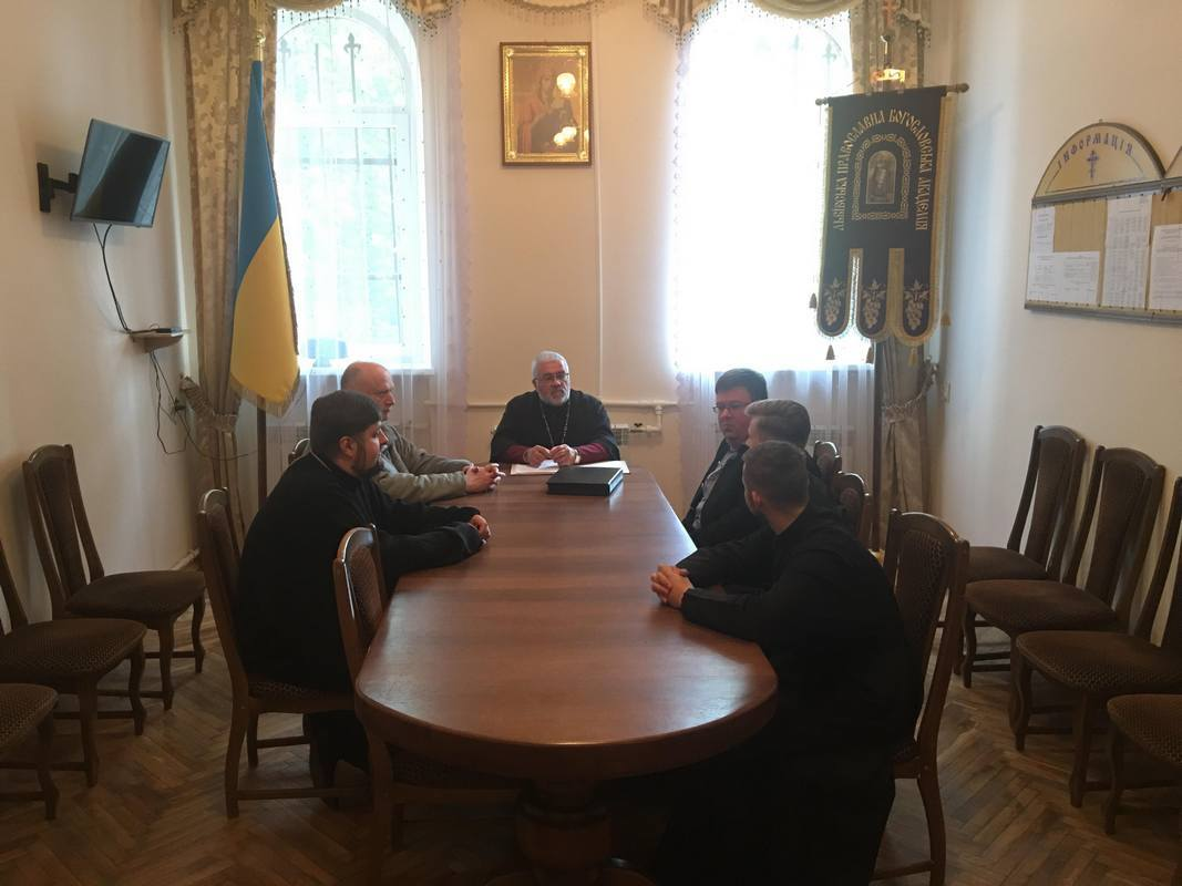 Німецькі науковці обговорили з ректором Львівської академії УПЦ КП подальшу співпрацю