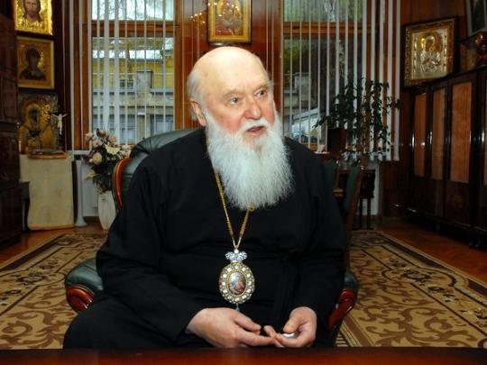 УПЦ КП обнародовала полное и краткое титулование своего предстоятеля