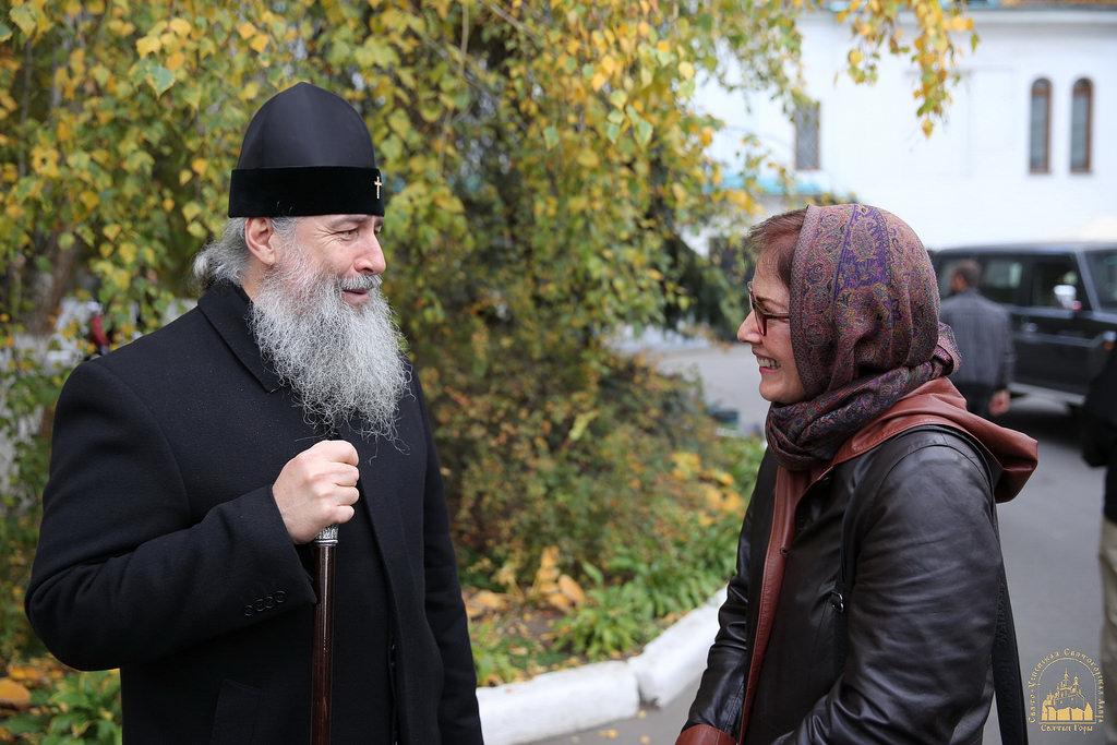 Святогірську лавру відвідала посол США в Україні