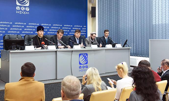 Інститут релігійної свободи презентував доповідь «Свобода віросповідання під прицілом: російський терор на окупованих територіях Східної України»