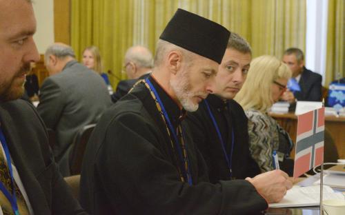 Священики УГКЦ виступили на міжнародній конференції «Актуальні проблеми захисту прав людини, яка перебуває у конфлікті із законом»