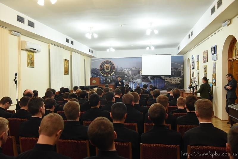 Соліст гурту «Антитіла» прочитав студентам УПЦ КП лекцію про важливість іміджу священиків в суспільстві