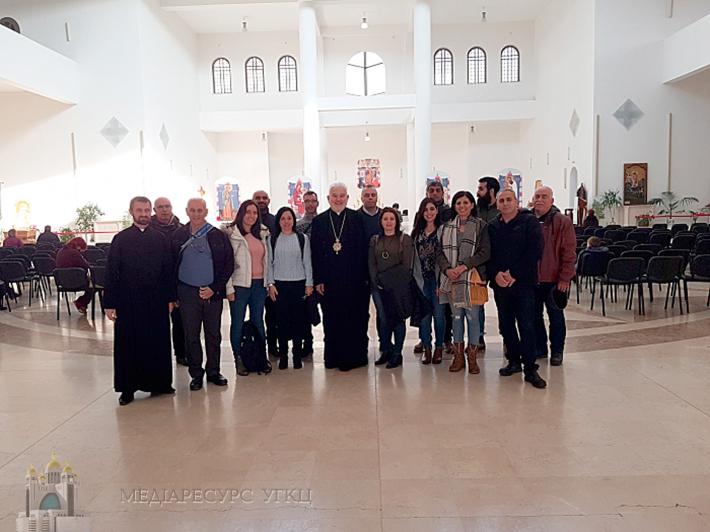 Єпископ УГКЦ зустрівся з групою викладачів католицьких шкіл з Ізраїлю