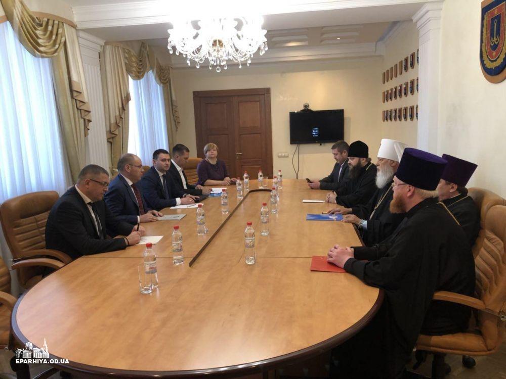 Влада Одещини обговорила з архієреями недопущення провокацій у сфері міжконфесійних відносин