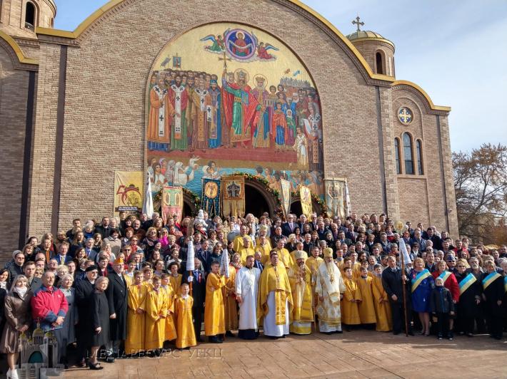 """Глава УГКЦ відвідав """"символ відродження і свідок воскресіння Української Церкви в США"""""""