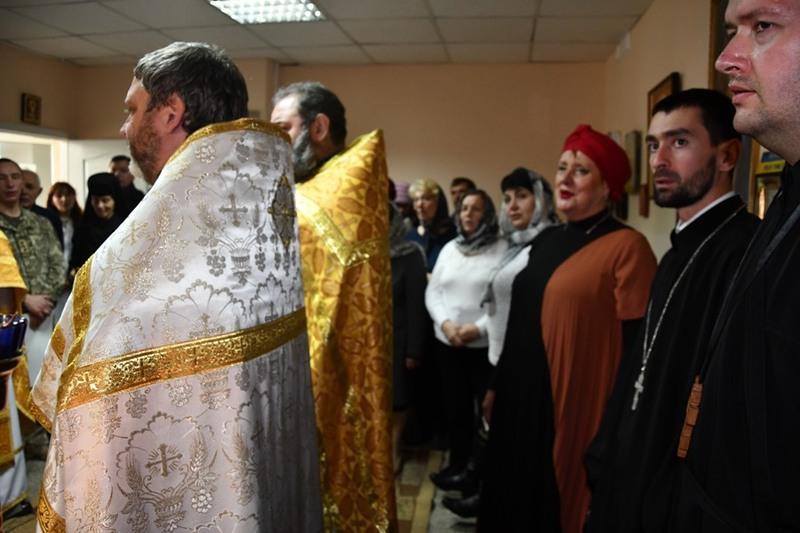У Харківському військово-медичному клінічному центрі освячено храм УПЦ КП