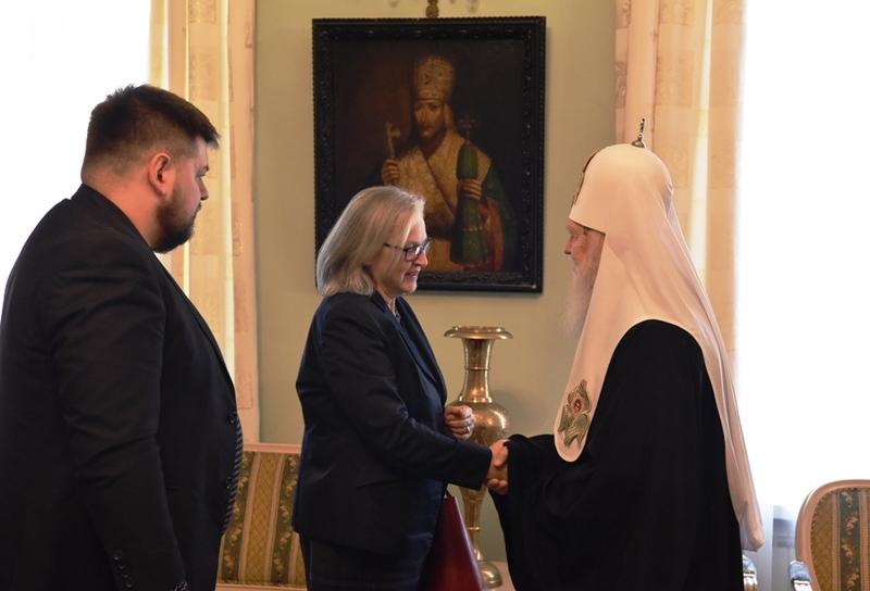 Патріарх Філарет і посол Австрії дійшли згоди щодо мирного процесу набуття Україною автокефалії