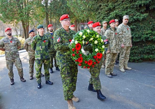 У Львові разом молилися українські, канадські, литовські, данські, шведські та британські військові
