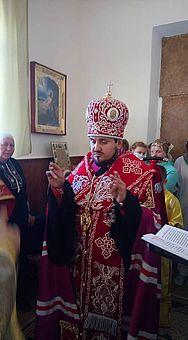 Архієпископ УАПЦ освятив каплицю при Житомирській дитячій лікарні