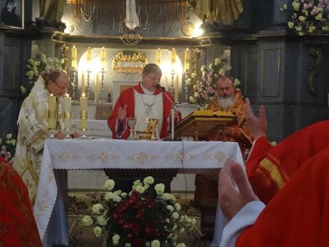 Католики і православні відзначили у Володимирі-Волинському мученицьку смерть Йосафата Кунцевича